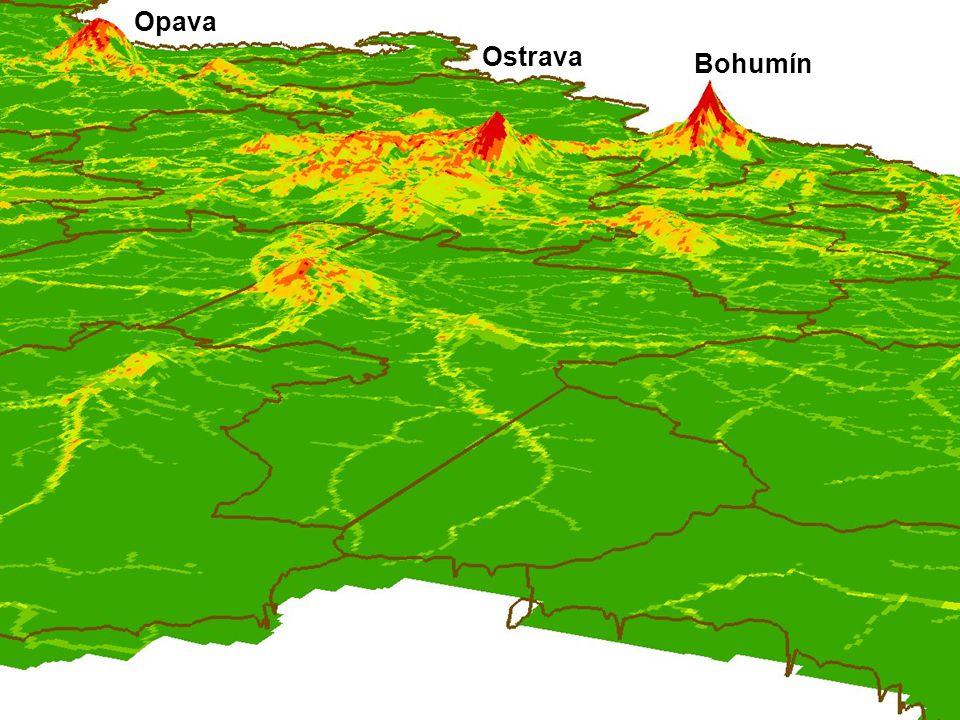 Bohumín Ostrava Opava
