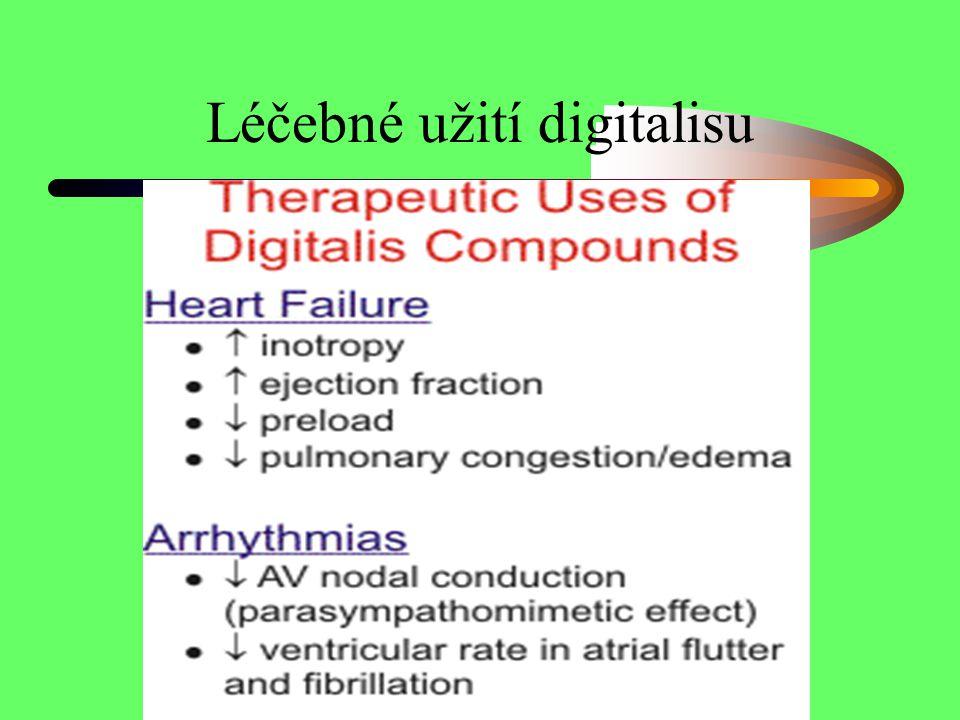 Léčebné užití digitalisu