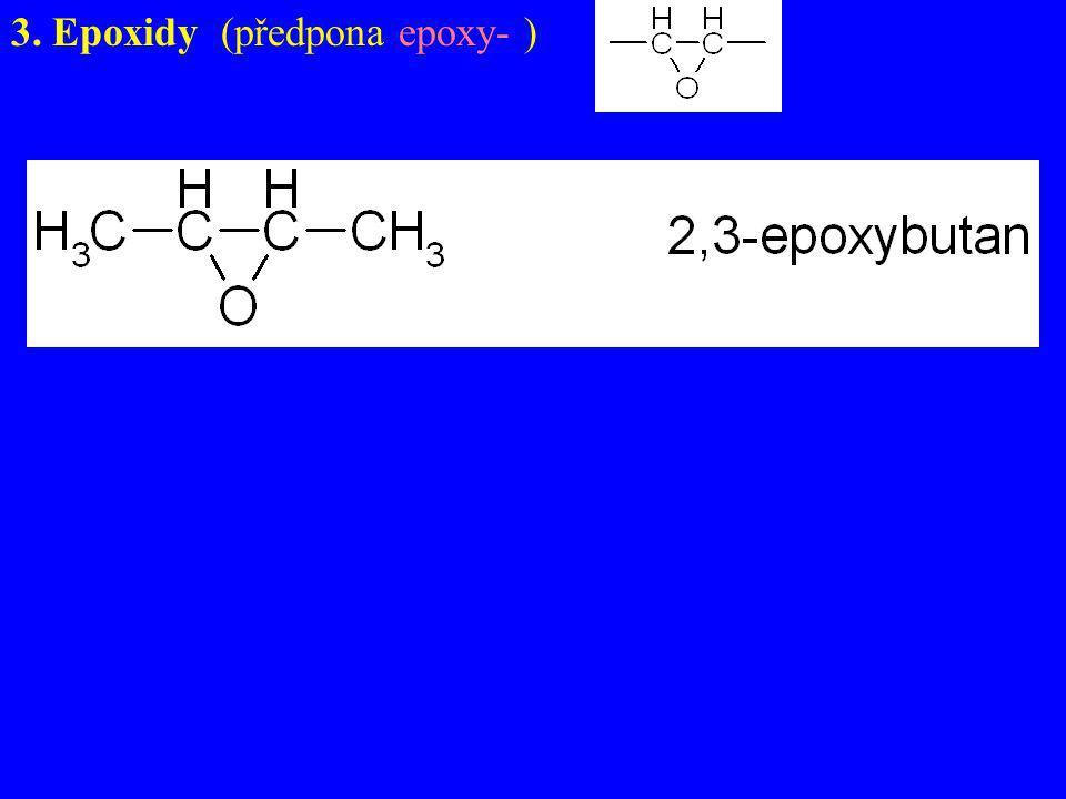 Skupina –SH jako vedlejší – předpona sulfanyl