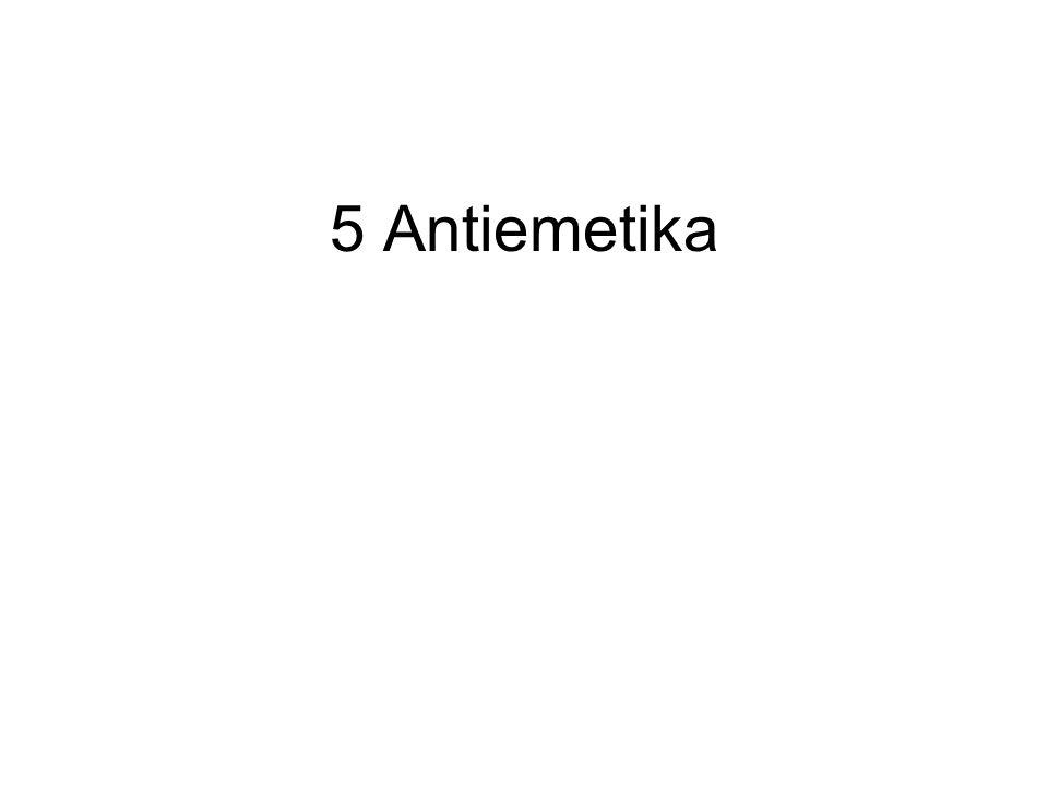 5 Antiemetika