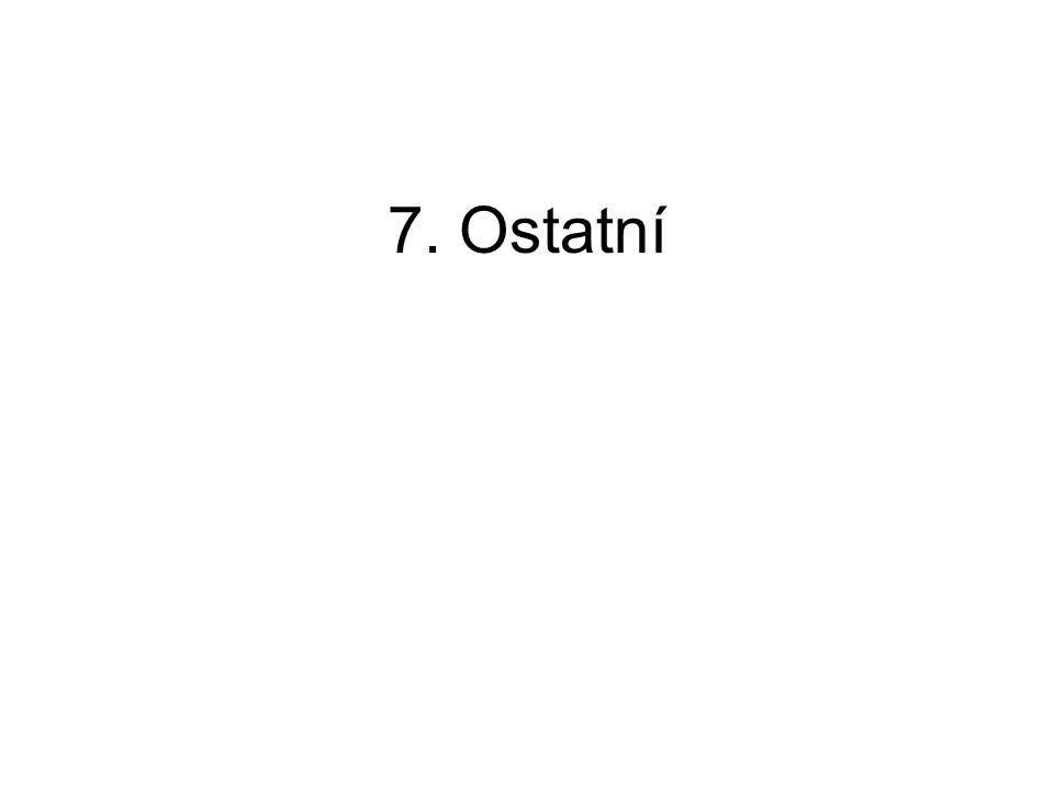 7. Ostatní