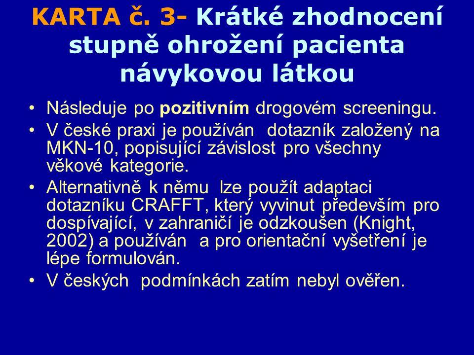 KARTA č.