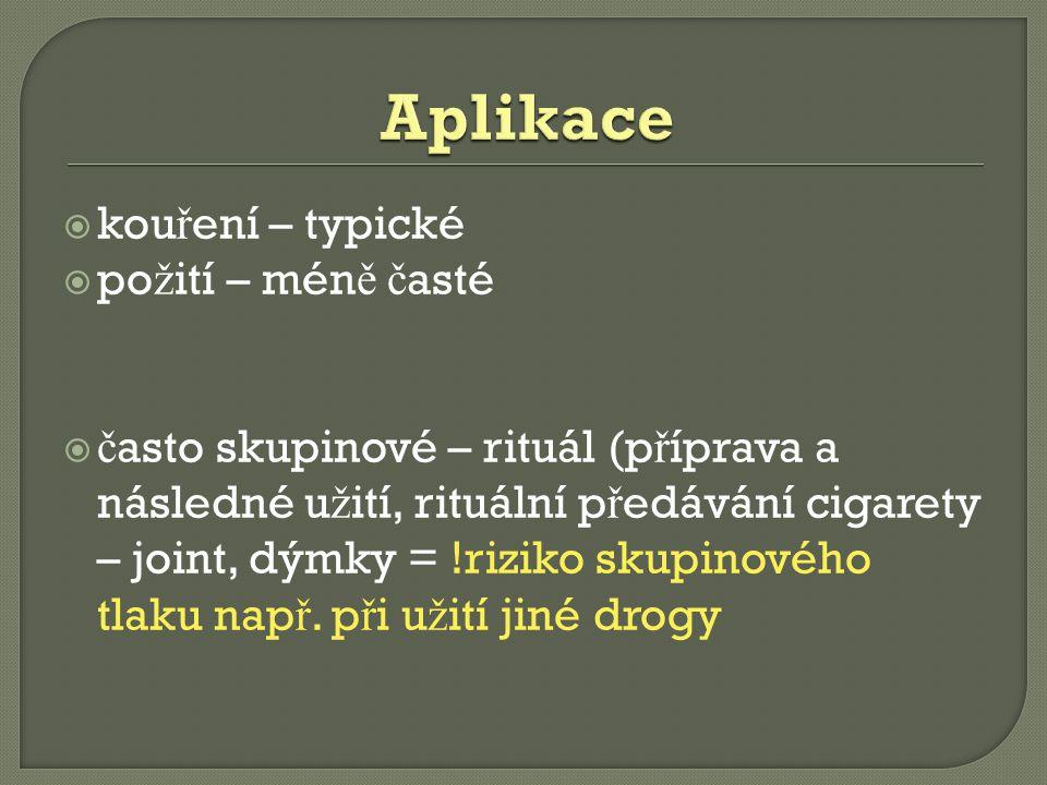 Zdroje:  Wikipedie: Otevřená encyklopedie: Marihuana (online).