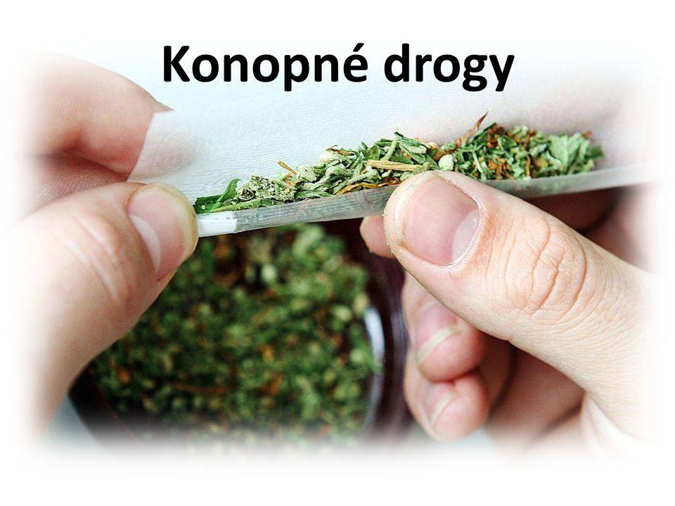 Konopné drogy