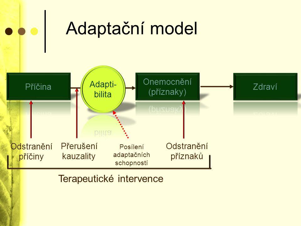 Stress/Vulnerability Model adaptibilita stress
