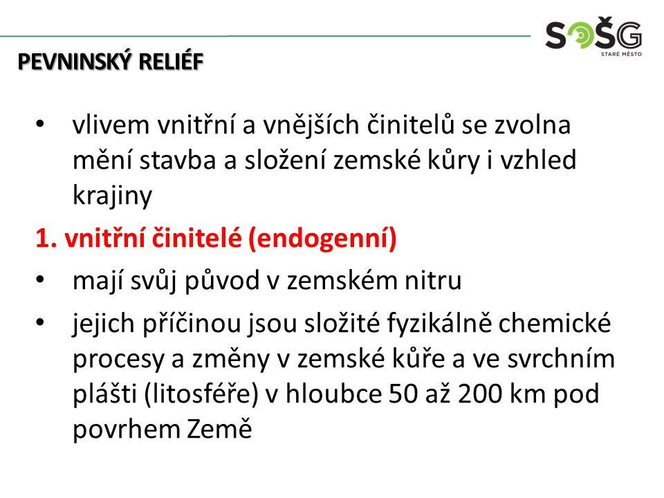 PEVNINSKÝ RELIÉF 1.