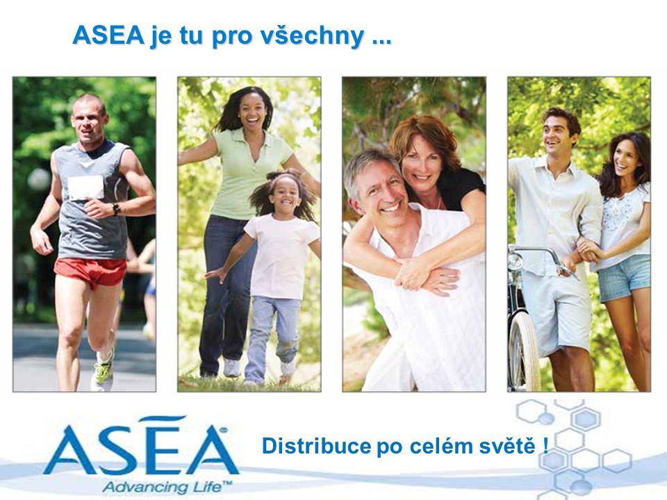 ASEA je tu pro všechny... Distribuce po celém světě !