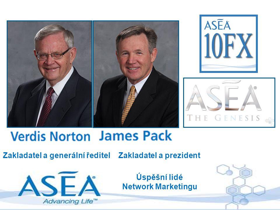 Úspěšní lidé Network Marketingu Zakladatel a generální ředitel Zakladatel a prezident