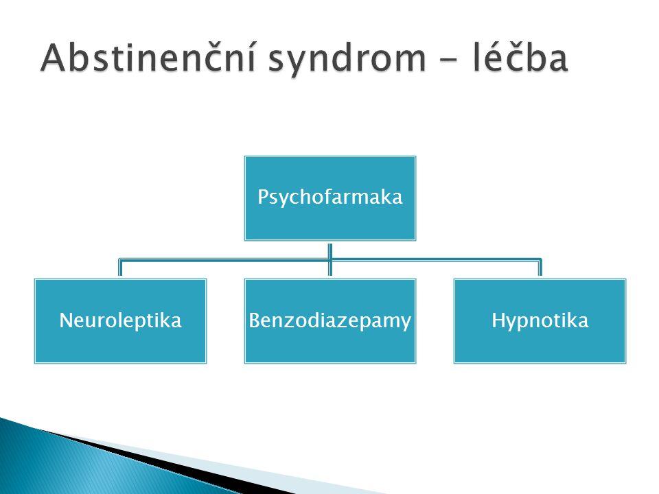 Psychofarmaka NeuroleptikaBenzodiazepamyHypnotika