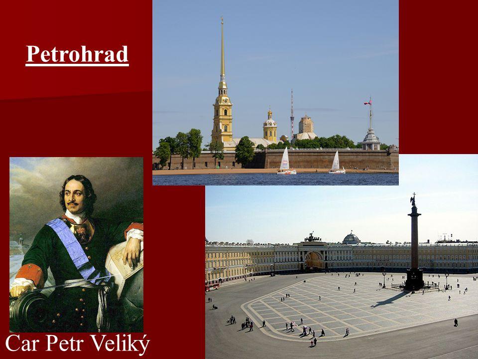 Car Petr Veliký Petrohrad