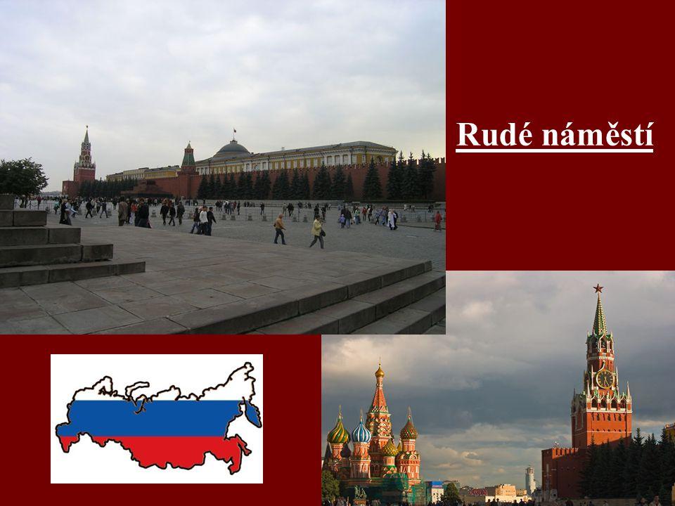Chrám Vasila Blaženého - na Rudém náměstí