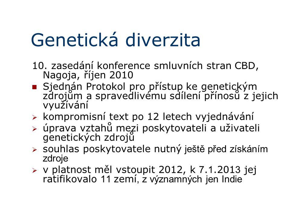Genetická diverzita 10.