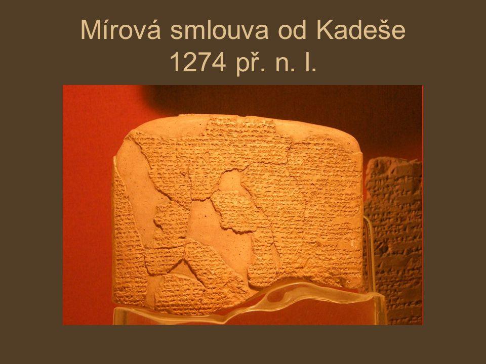 Mírová smlouva od Kadeše 1274 př. n. l.