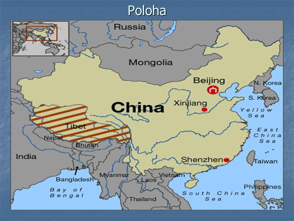 Státní vlajka Bílá zasnežená hora – symbol Tibetu Bílá zasnežená hora – symbol Tibetu Šest červených pásů – šest pův.