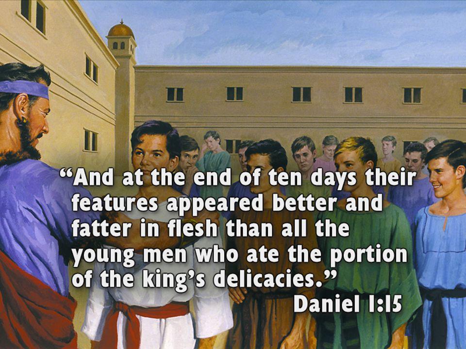 Nejstarší zápisy o účincích zeleniny v knize Daniel Příběh je zasazen do doby babylónských králů Nabúkadnesara a Belšasara.Kdy po dobytí Jeruzaléma by