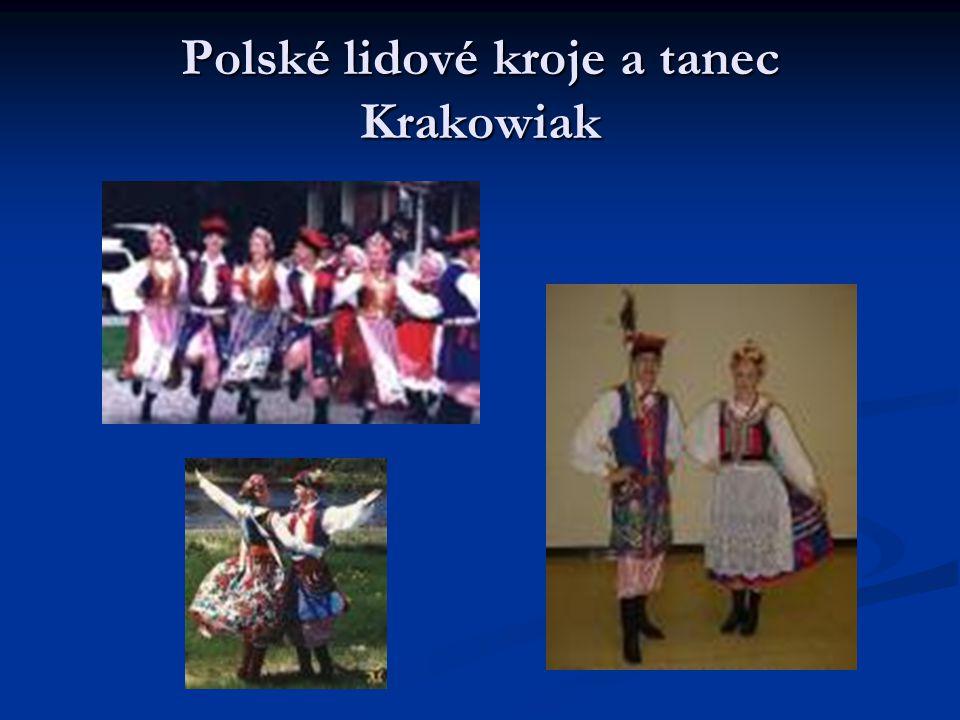 Polské lidové kroje a tanec Krakowiak