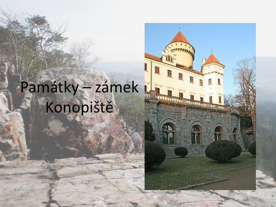 Památky – zámek Konopiště