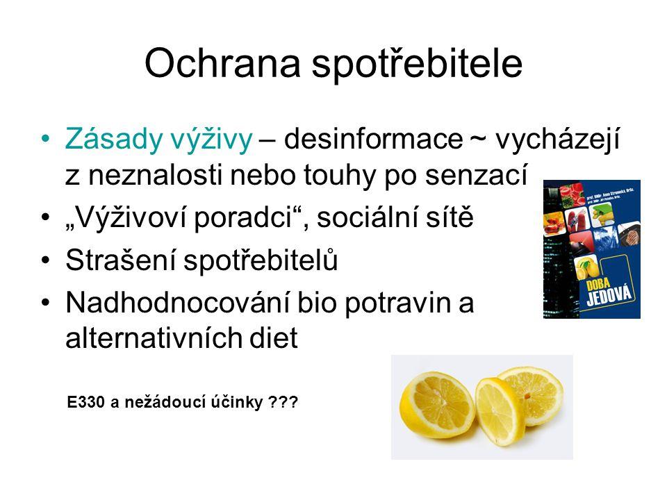 Potraviny nového typu Nařízení č.