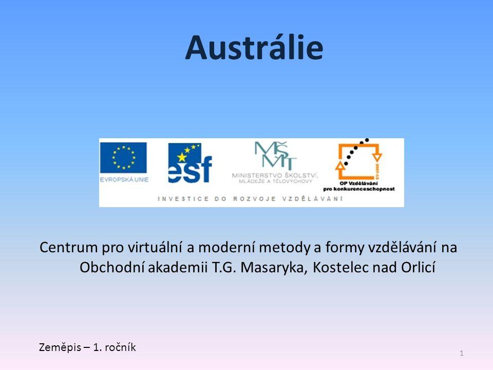 Centrum pro virtuální a moderní metody a formy vzdělávání na Obchodní akademii T.G.