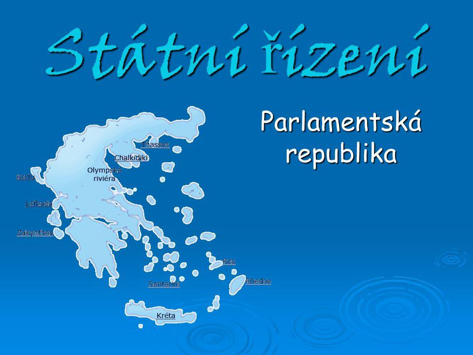 Státní řízení Parlamentská republika