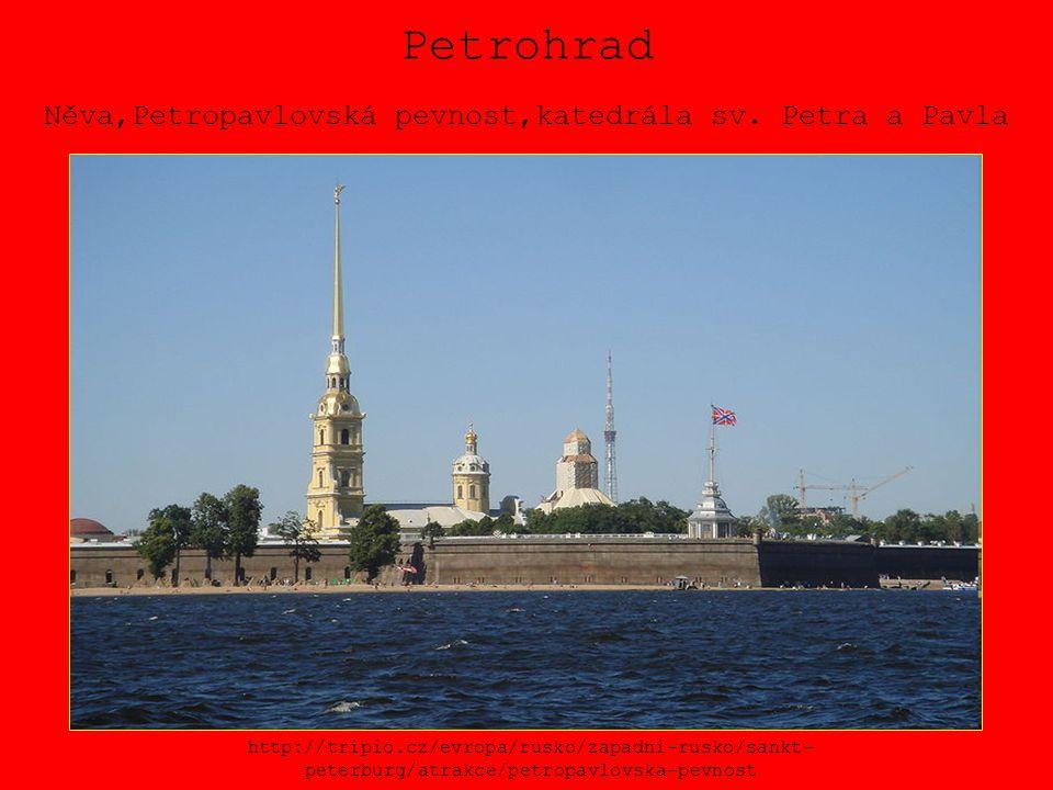 Petrohrad Něva,Petropavlovská pevnost,katedrála sv. Petra a Pavla http://tripio.cz/evropa/rusko/zapadni-rusko/sankt- peterburg/atrakce/petropavlovska-