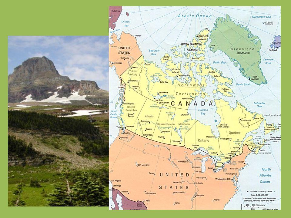 Kanadu najdeme na severní části Severní Ameriky. Na severu patří Kanadě také řada arktických ostrovů, které zasahují až k Severnímu ledovému oceánu. N