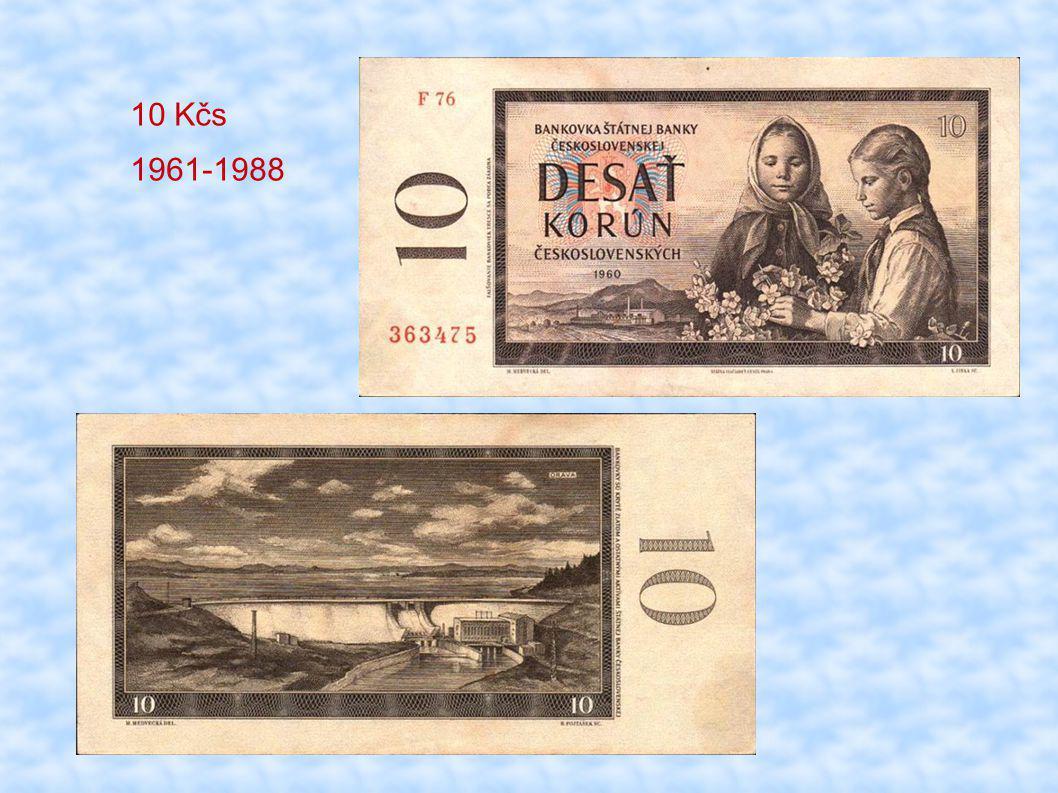 10 Kčs 1961-1988