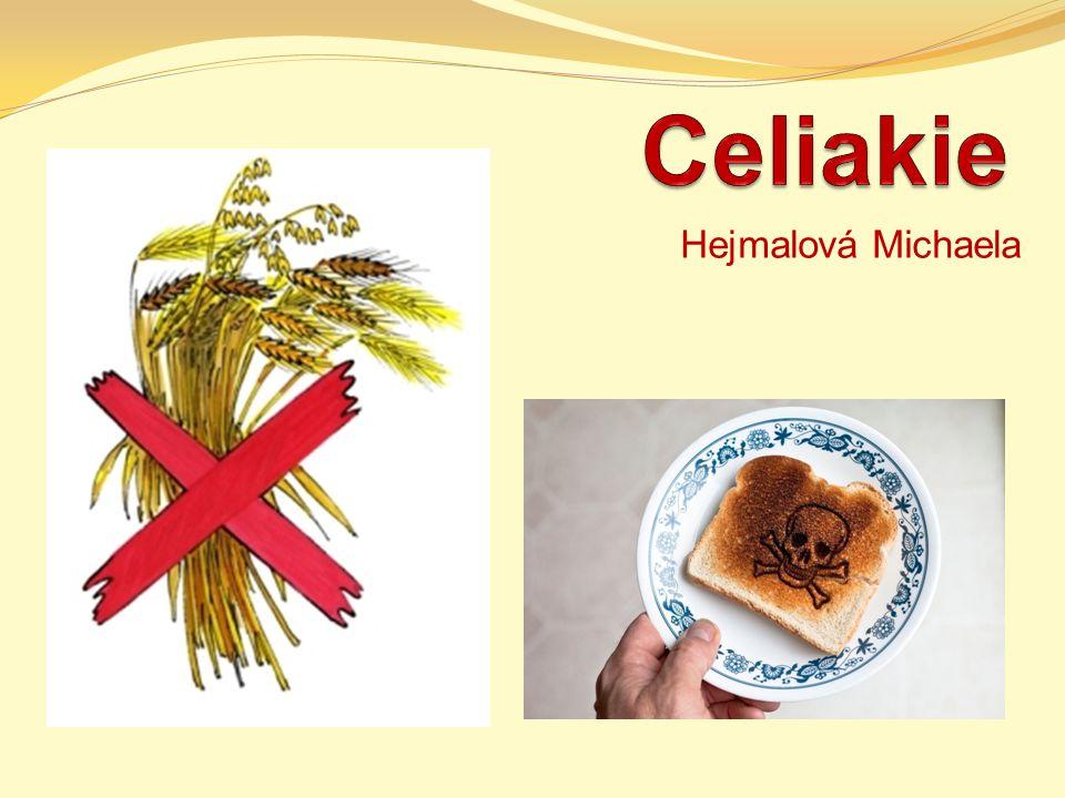 Definice celiakální sprue, Herterova choroba, netropická sprue primární komplexní malabsorpční syndrom chronické zánětlivé onemocnění sliznice tenkého střeva projevující se malabsorpcí a mimostřevními projevy, zlepšující se po vynechání lepku z potravy