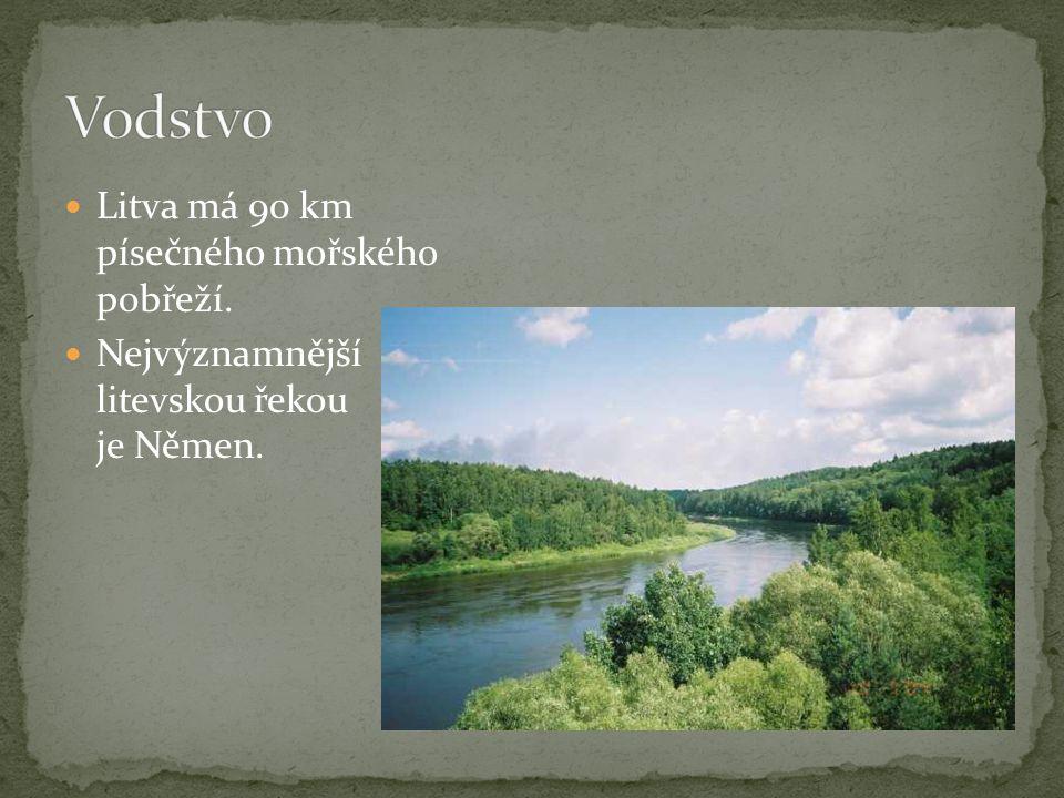 rovinatý a nížinný průměrná nadmořská výška činí 99 m Nejvyšším místem je vrch Aukštojas s výškou 293,84 m (pahorkatina Baltských vrchů)