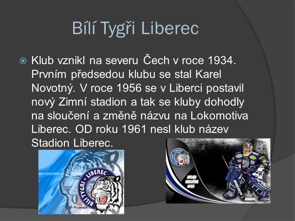 Bílí Tygři Liberec  Klub vznikl na severu Čech v roce 1934.