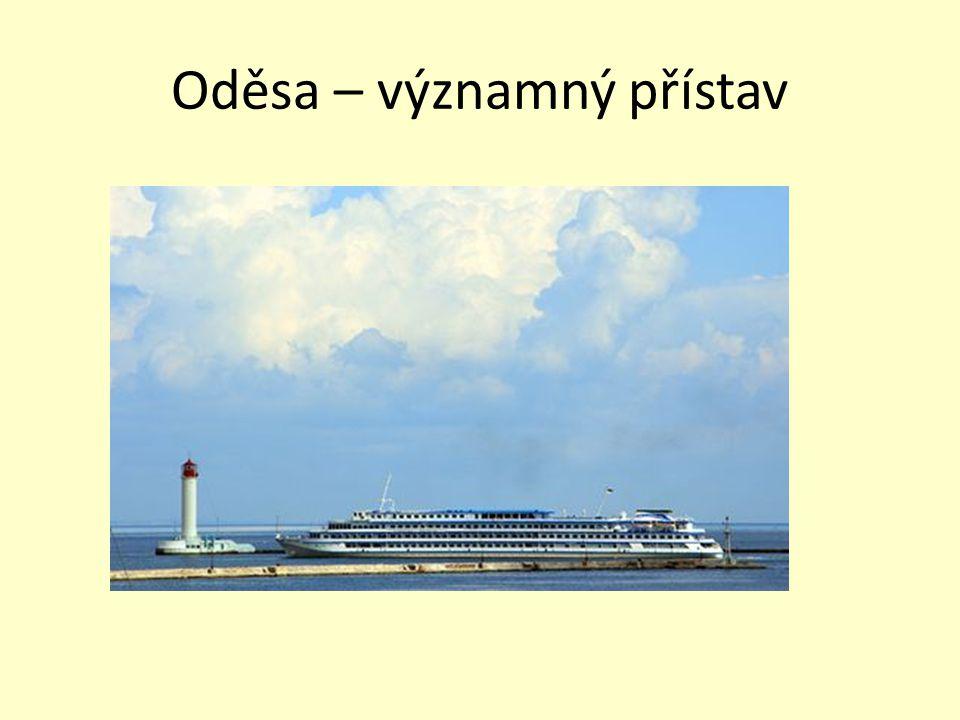Oděsa – významný přístav