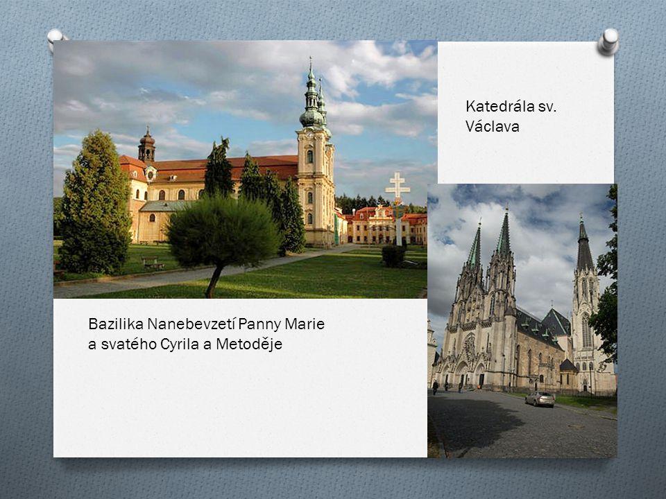Bazilika Nanebevzetí Panny Marie a svatého Cyrila a Metoděje Katedrála sv. Václava