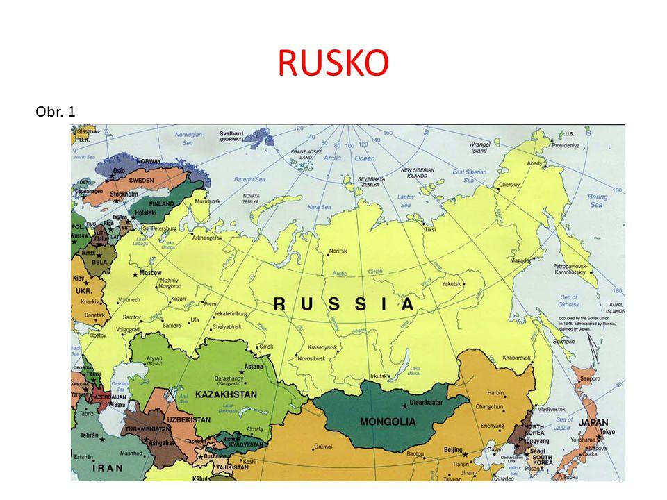 OPAKOVÁNÍ – správné řešení Hlavním městem Ruska, které je federativní republikou, je Moskva.