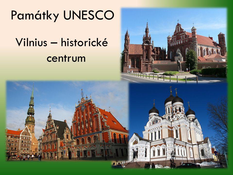 Památky UNESCO Vilnius – historické centrum