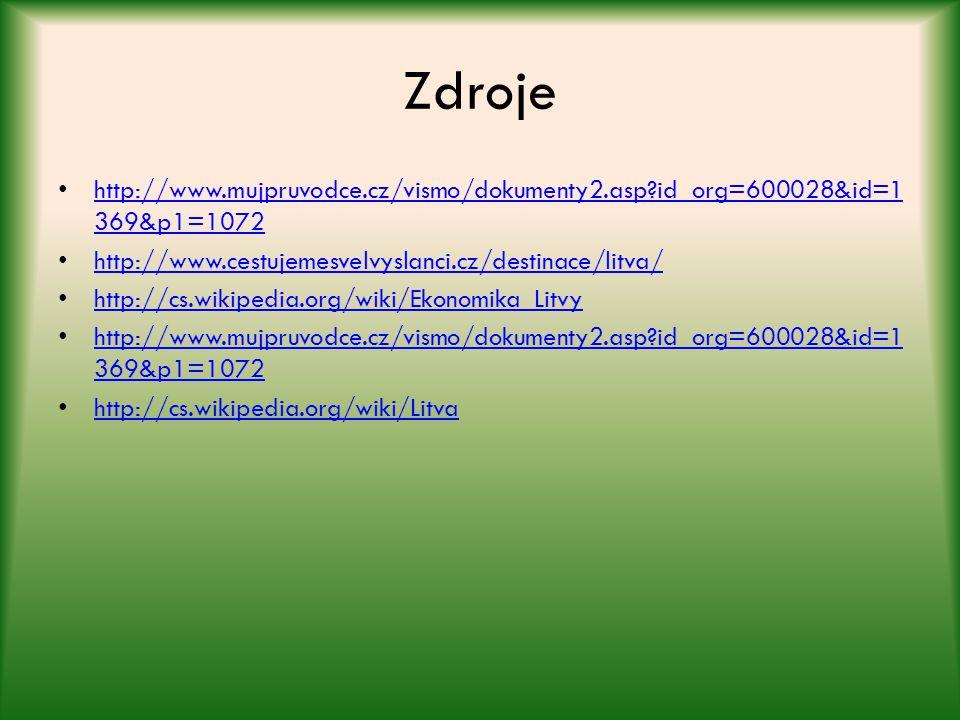 Zdroje http://www.mujpruvodce.cz/vismo/dokumenty2.asp?id_org=600028&id=1 369&p1=1072 http://www.mujpruvodce.cz/vismo/dokumenty2.asp?id_org=600028&id=1