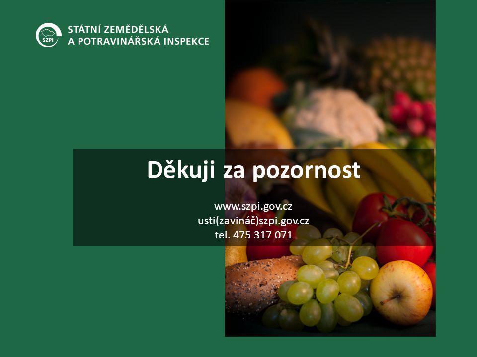 Děkuji za pozornost www.szpi.gov.cz usti(zavináč)szpi.gov.cz tel. 475 317 071