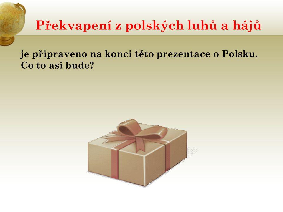 Překvapení z polských luhů a hájů je připraveno na konci této prezentace o Polsku. Co to asi bude?
