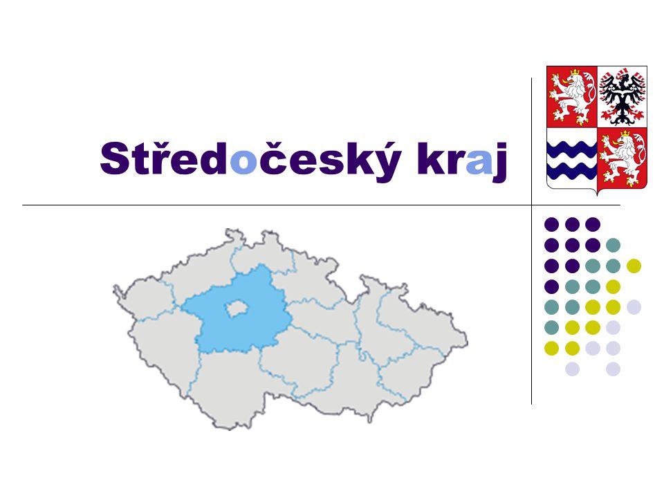 Základní informace: největší samostatný územně správní celek ČR jako jediný obklopuje Prahu rozloha: 11 014 km² 1 171 200 obyv.
