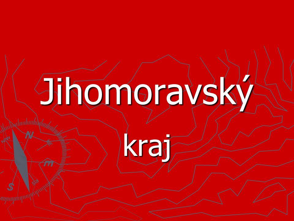 Poloha Jihomoravského kraje…