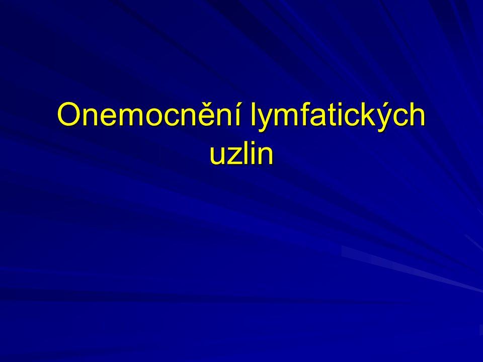 Onemocnění lymfatických uzlin