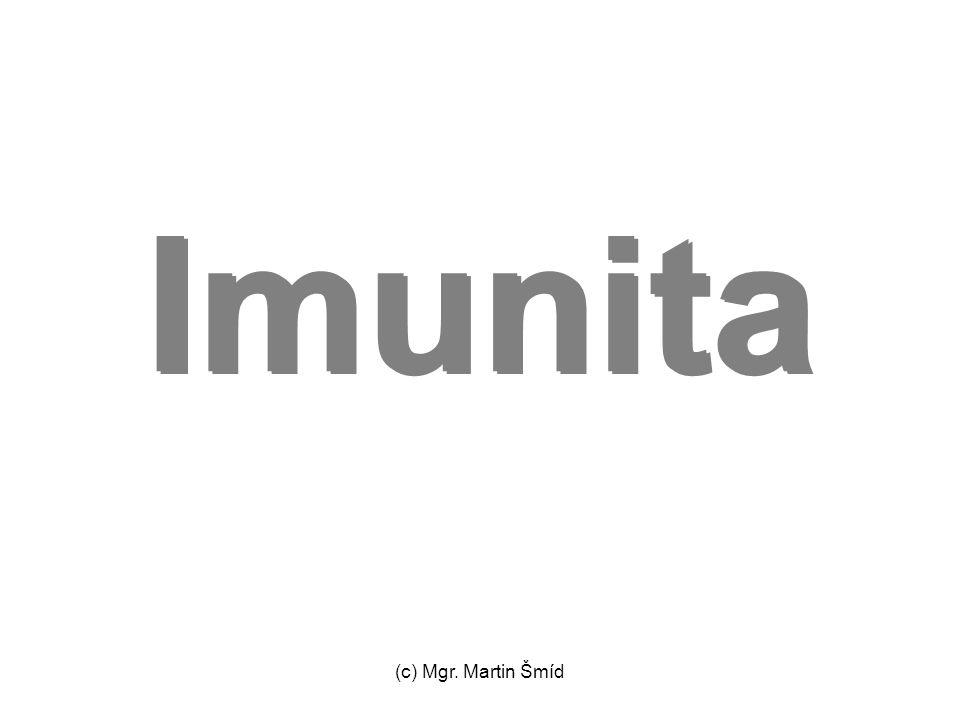 (c) Mgr. Martin Šmíd Imunita