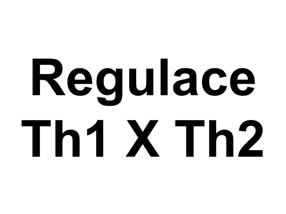 Regulace Th1 X Th2