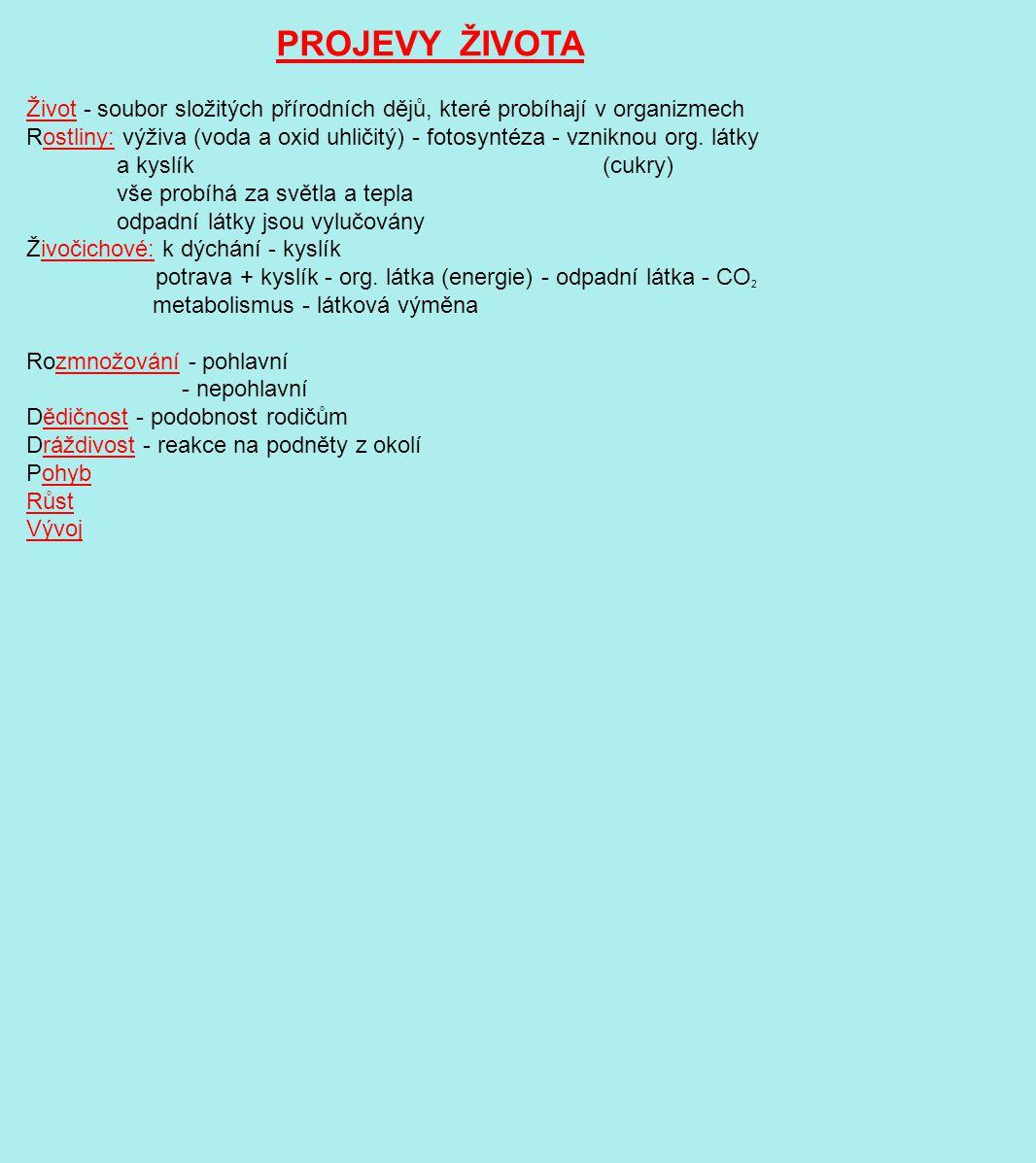 VZDUŠNICOVCI - vzdušnice - trubičky na dýchání 1.Mnohonožky 2.