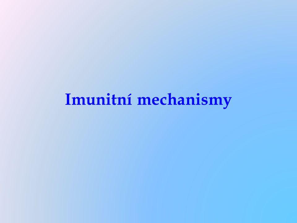 Imunitní mechanismy