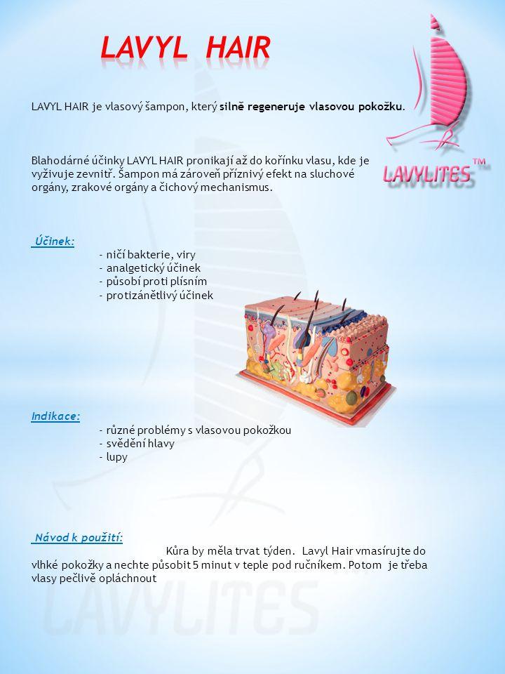 LAVYL BODY je tělové mléko pro celkovou péči o tělo.