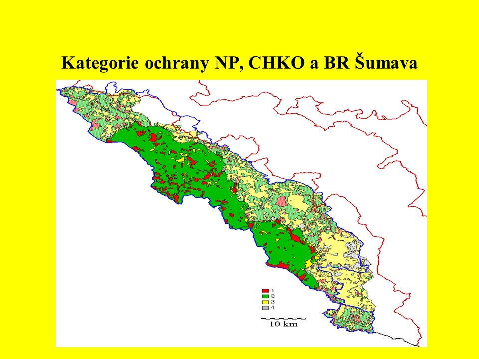 Biodiverzita modelových skupin ve sledovaných BR (www.