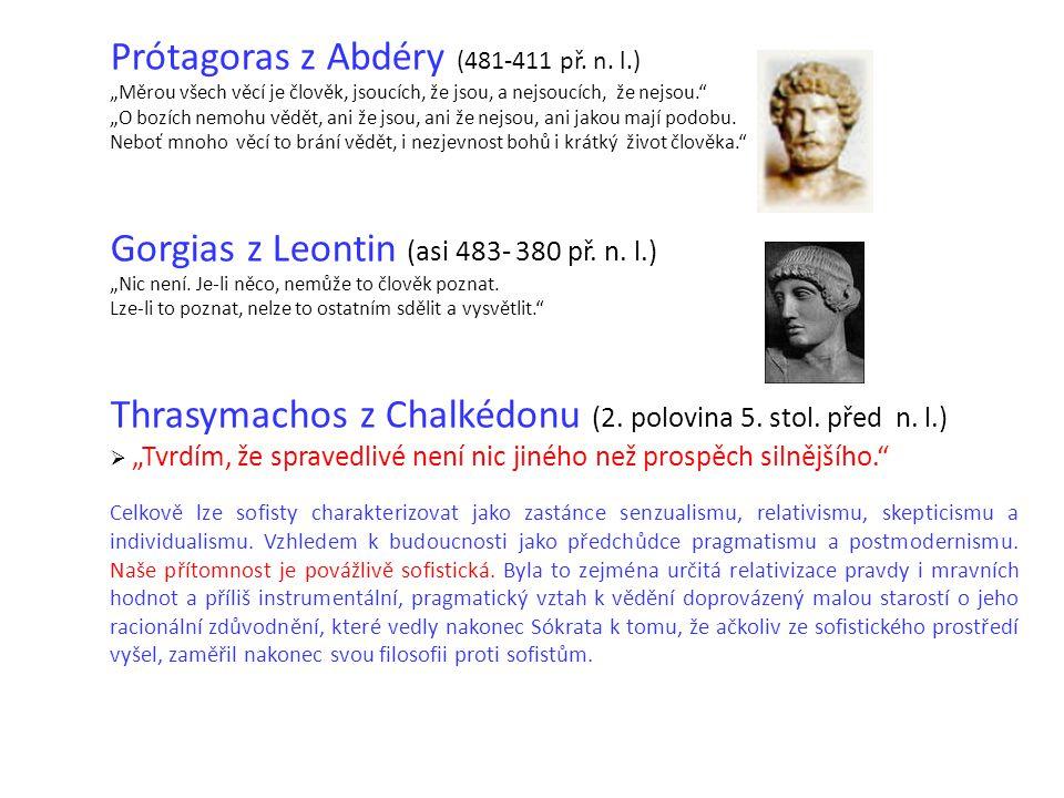 Prótagoras z Abdéry (481-411 př. n.