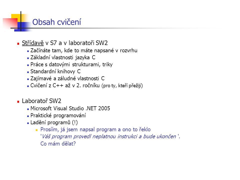Problém vracení řetězců - správné a bezpečné řešení int cele_jmeno( char * buf, size_t bufsize, const char * jm, const char * prijm) { size_t lj = strlen( jm); size_t lp = strlen( prijm); if ( lj + lp + 2 > bufsize ) { /* error */ return -1; } memcpy( buf, jm, lj); buf[ lj] = ; memcpy( buf + lj + 1, prijm, lp); buf[ lj + lp + 1] = 0; return lj + lp + 1; } void tisk( const char * jm, const char * prijm) { enum { N = 100 }; char buf[ N]; if( cele_jmeno( buf, N, jm, prijm) > 0) puts( buf); } max velikost pole kontrola korektnosti výsledku kontrola velikosti pole pozor na mezeru a konec.