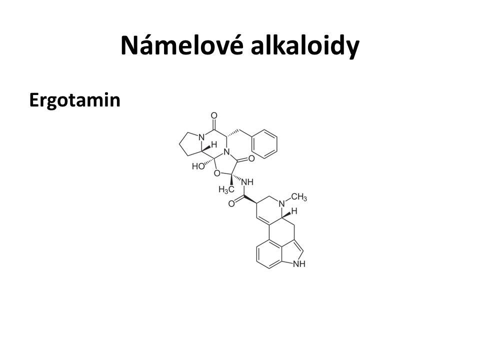 Námelové alkaloidy Ergotamin