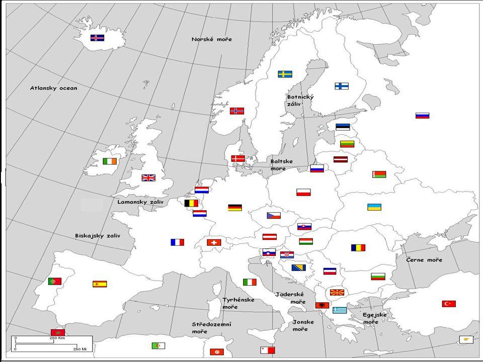 OSN - téměř všechny státy Evropy jsou členy - ČR je členem od roku 1993 - organizace, která usiluje o řešení hosp., soc.